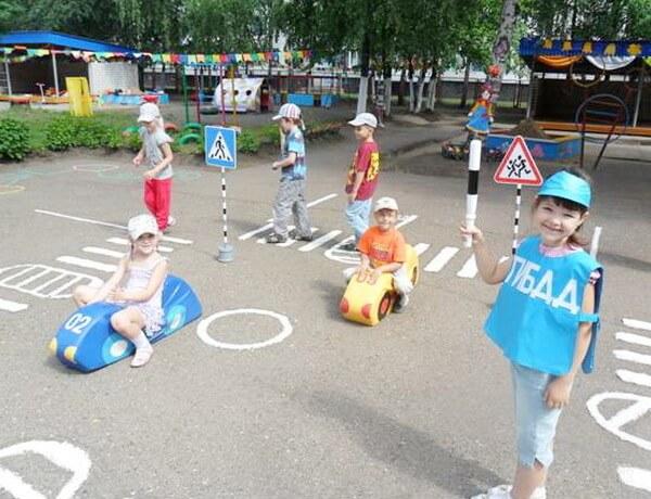 Игры пдд в детском саду